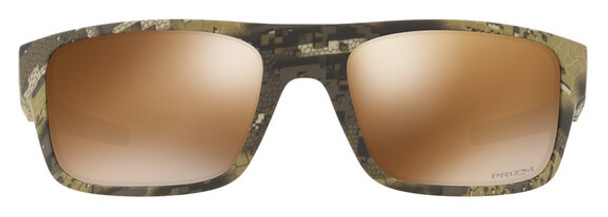 Oakley SI Drop Point Sunglasses with Desolve Bare Frame and Prizm Tungsten Polarized Lens - Front