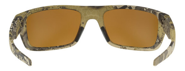 Oakley SI Drop Point Sunglasses with Desolve Bare Frame and Prizm Tungsten Polarized Lens - Back