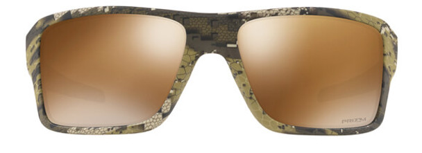 Oakley SI Double Edge Sunglasses with Desolve Bare Frame and Prizm Tungsten Polarized Lens - Front