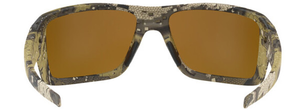 Oakley SI Double Edge Sunglasses with Desolve Bare Frame and Prizm Tungsten Polarized Lens - Back