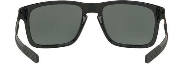Oakley Holbrook Mix Sunglasses with Polished Black Frame and Prizm Black Polarized Lens - Back