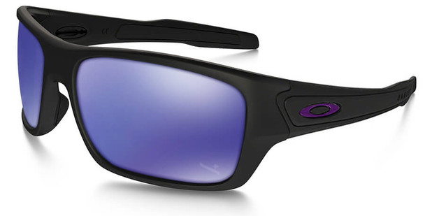 Oakley SI Infinite Hero Turbine with Matte Black Frame and Violet Iridium Lens