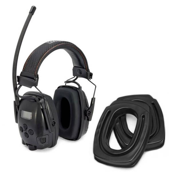 SightLines Ear Cushions & Howard Leight Sync Electo Earmuff Bundle