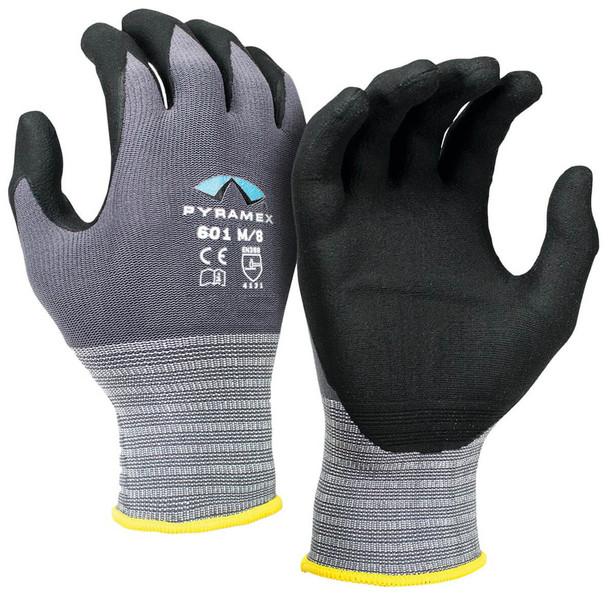 Pyramex GL601 Series Micro-Foam Nitrile Gloves