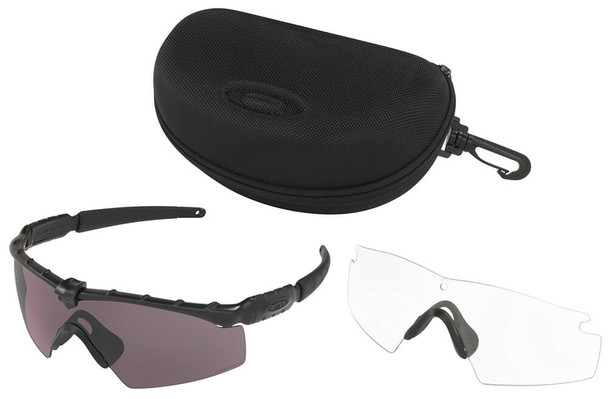Oakley SI Ballistic M Frame 2.0 with Matte Black Frame and Prizm Grey Lens - Kit