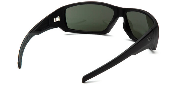 Venture Gear Overwatch Tactical Safety Sunglasses with Black Frame and Smoke Green Anti-Fog Lens - Back