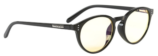 Gunnar Attache Computer Glasses with Onyx Frame and Amber Lens