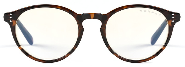 Gunnar Attache Digital Performance Eyewear with Tortoise Frame and Liquet Lens - Front