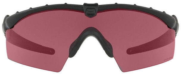 Oakley SI Ballistic M Frame 2.0 Array with Matte Black Frame and Clear, TR22 and TR45 Lenses - Front