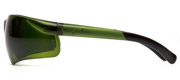 Pyramex Ztek Safety Glasses with 3.0 IR Lens - Side