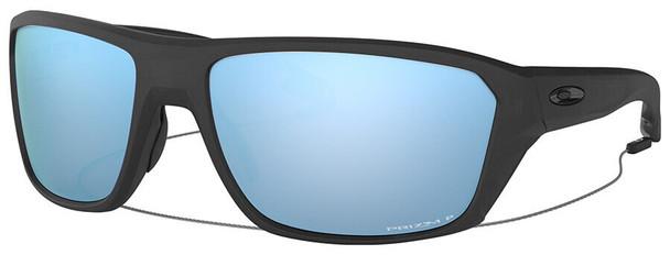 Oakley SI Split Shot Sunglasses with Matte Black Frame and Prizm Deep Water Polarized Lens