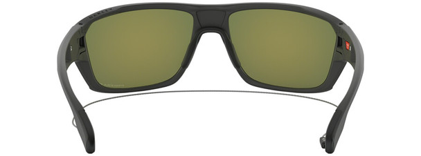 Oakley SI Split Shot Sunglasses with Matte Heather Grey Frame and Prizm Ruby Polarized Lens - Back