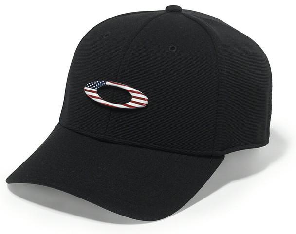 Oakley SI Tincan Black/American Flag Cap
