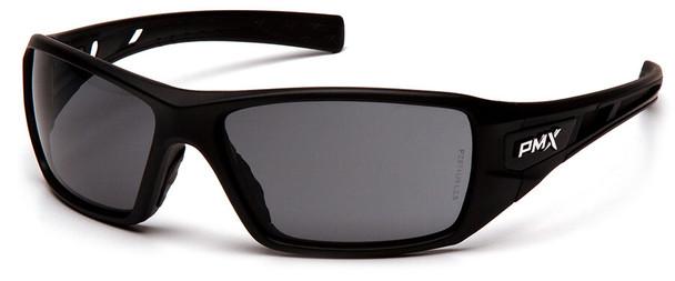 Pyramex Velar Safety Glasses with Black Frame and Gray Lens SB10420D