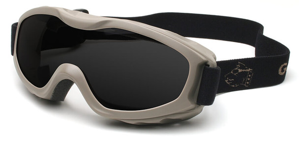 Guard Dogs Evader 2 Safety Goggles with Earth Frame and Smoke Anti-Fog Lens