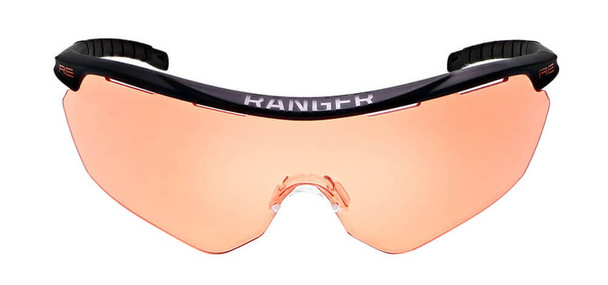 Randolph Phantom 2.0 Shooting Glasses with Black Frame and HD Medium Lens