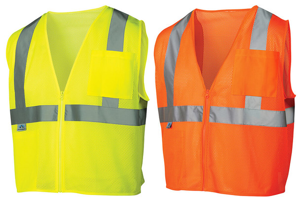 Pyramex RVZ21 Hi-Viz Safety Vests