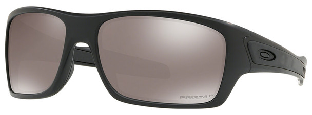 Oakley SI Turbine Blackside Sunglasses with Matte Black Frame and Prizm Black Polarized Lens