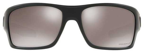 Oakley SI Turbine Blackside Sunglasses with Matte Black Frame and Prizm Black Polarized Lens - Front