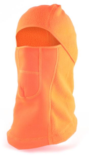 Pyramex Balaclava Cold Weather Fleece Face Mask - Hi-Vis Orange
