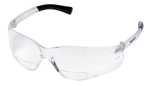 Crews Bearkat Magnifiers Bifocal Safety Glasses With Clear Lens