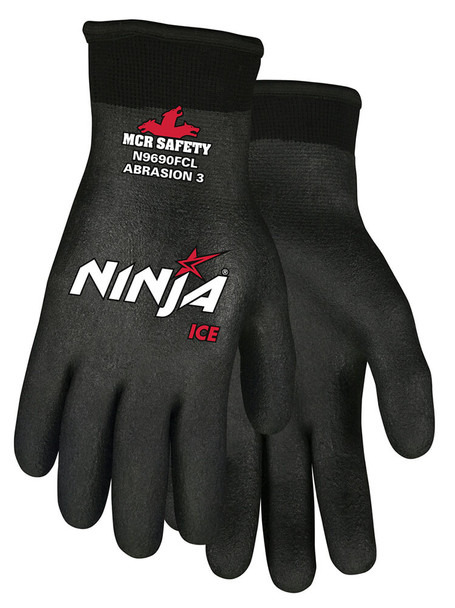 MCR Ninja Ice Fully Coated Cold Weather Work Gloves