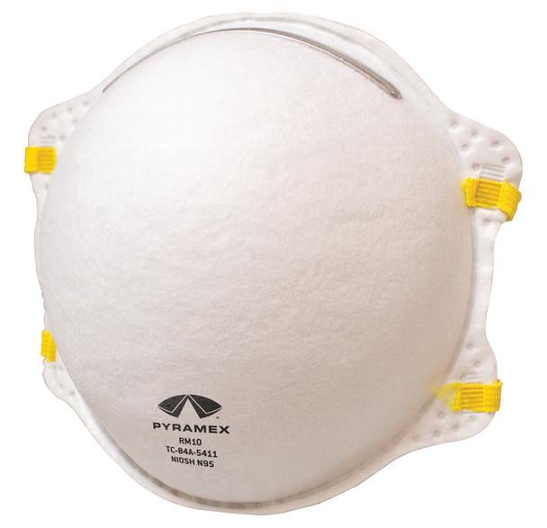 Pyramex N95 Cone Respirator - Front - Box of 20