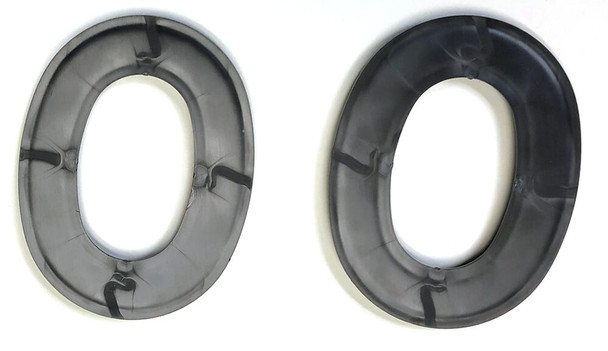 Noisefighter Sightlines Adapter Plates for Peltor Optime and Similar Headsets - Back