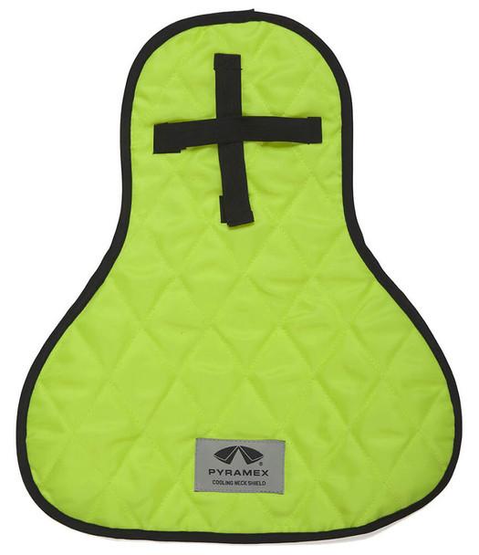Pyramex CNS130 Cooling Hard Hat Pad & Neck Shade Hi-Vis Lime