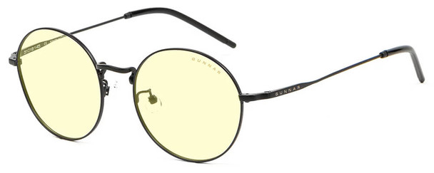 Gunnar Ellipse Computer Glasses with Onyx Frame and Amber Lens