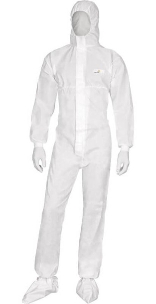 DeltaPlus Deltatek 6000 Disposable Coveralls with Elastic Hood (Case 20)