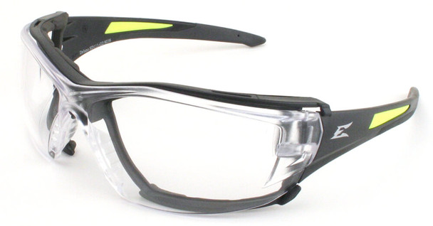 Edge Delano G2 Safety Glasses with Clear Lens and Foam Gasket Bundle