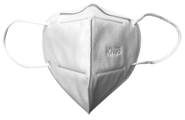 Disposable KN95 Face Mask FDA-Registered Medical Use (Pack of 5) - Front View