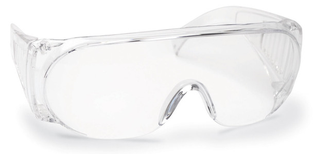 Walker's Full Coverage Safety Glasses with Clear Lens