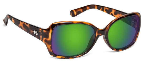 ONOS Breeze Polarized Bifocal Sunglasses with Amber Green Mirror Lens