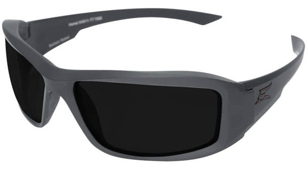 Edge Tactical Eyewear Hamel Safety Glasses with Gray Thin Temple and Polarized Smoke Vapor Shield Lens