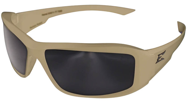 Edge Tactical Eyewear Hamel Safety Glasses with Sand Thin Temple and G-15 Vapor Shield Lens