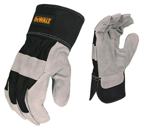 DeWalt DPG41 Premium Split Cowhide Leather Palm Gloves
