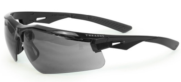 Radians Thraxus Safety Glasses with Smoke IQUITY Anti-Fog Lens