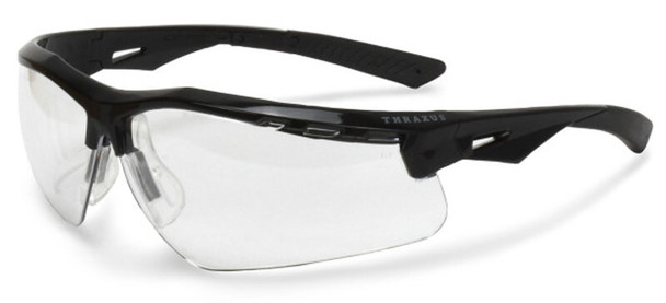 Radians Thraxus Safety Glasses with Clear IQUITY Anti-Fog Lens