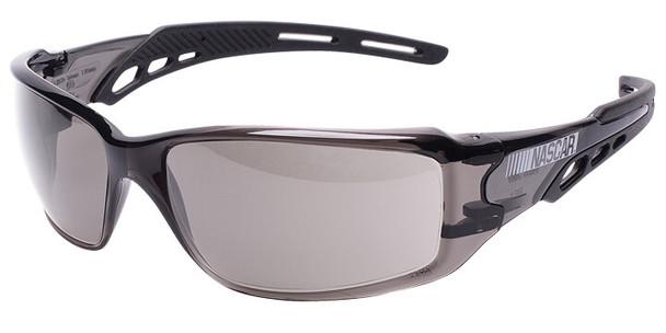 Encon NASCAR Brio Safety Glasses with Black Frame and Gray Lens