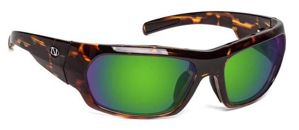 ONOS Nolin Polarized Bifocal Sunglasses with Amber Green Mirror Lens