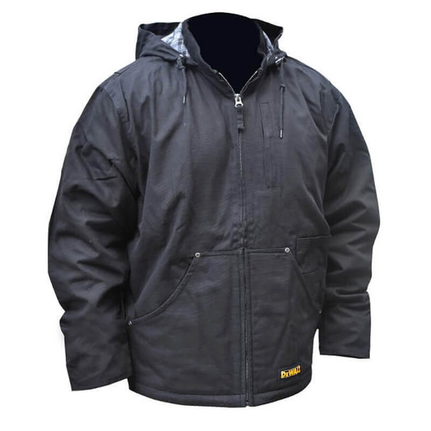 DEWALT DCHJ076ABB  Unisex Heated Heavy Duty Work Coat Without Battery - Front View