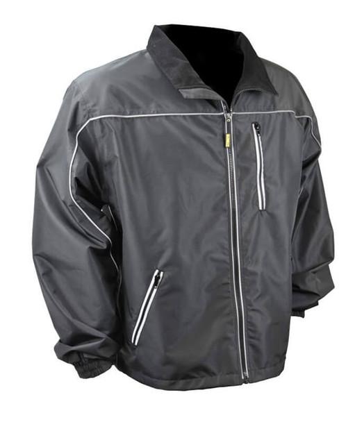 DEWALT Unisex Heated Lightweight Shell Jacket Black Without Battery