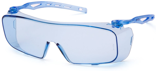 Pyramex Cappture Safety Glasses with Infinity Blue Anti-Fog Lens S9960ST
