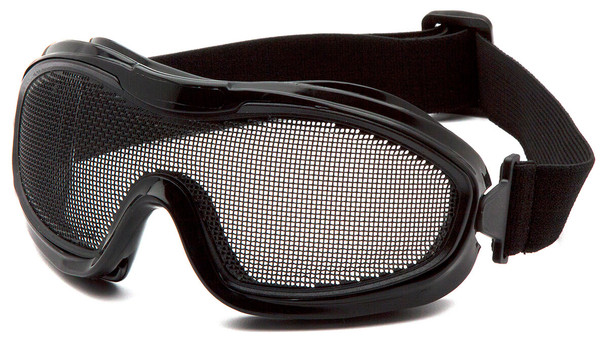 Pyramex G9WMG Safety Goggles with Wire-Mesh Lens