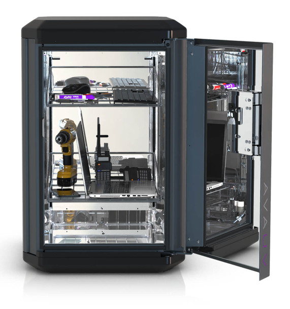 AvaUV Cube UV Disinfection Cabinet - Open Full