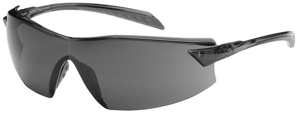 Bouton Radar Safety Glasses with Gray Temple and Gray Anti-Fog Lens 250-45-0021