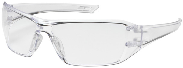 Bouton Captain Safety Glasses with Clear Temple and Clear Anti-Reflective Lens