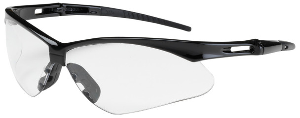 Bouton Anser Safety Glasses with Black Frame and Clear Lens 250-AN-10110